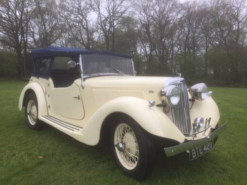 1936 Talbot Ten Sports Tourer for sale in Hampshire... SOLD (picture 1 of 6)