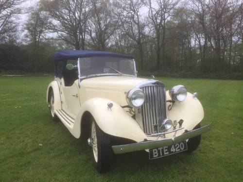 1936 Talbot Ten Sports Tourer for sale in Hampshire... SOLD (picture 2 of 6)