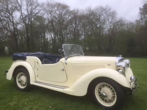 1936 Talbot Ten Sports Tourer for sale in Hampshire... SOLD (picture 3 of 6)