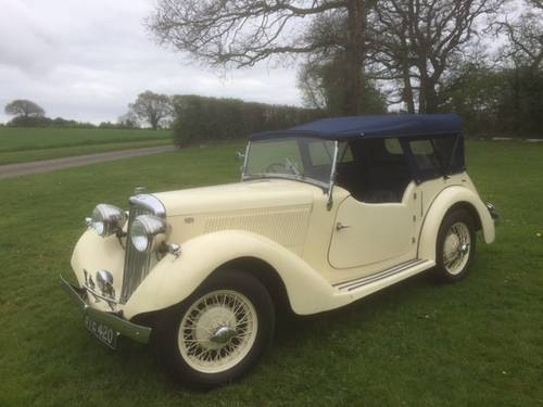 1936 Talbot Ten Sports Tourer for sale in Hampshire... SOLD (picture 5 of 6)