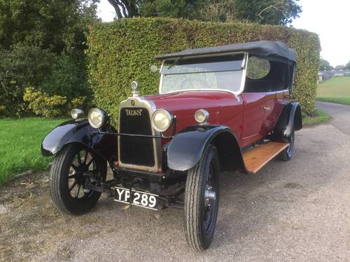 1926 Talbot 10/23 Four Seat Tourer - for sale in Hampshire.. SOLD (picture 1 of 6)