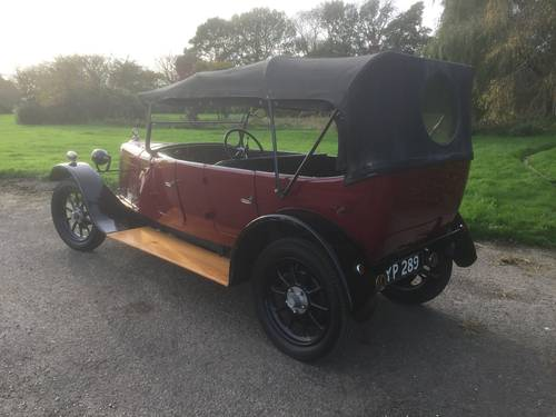 1926 Talbot 10/23 Four Seat Tourer - for sale in Hampshire.. SOLD (picture 2 of 6)
