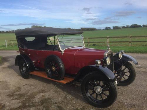 1926 Talbot 10/23 Four Seat Tourer - for sale in Hampshire.. SOLD (picture 5 of 6)