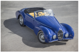 1936 Talbot Lago T120 Graber Cabrio For Sale