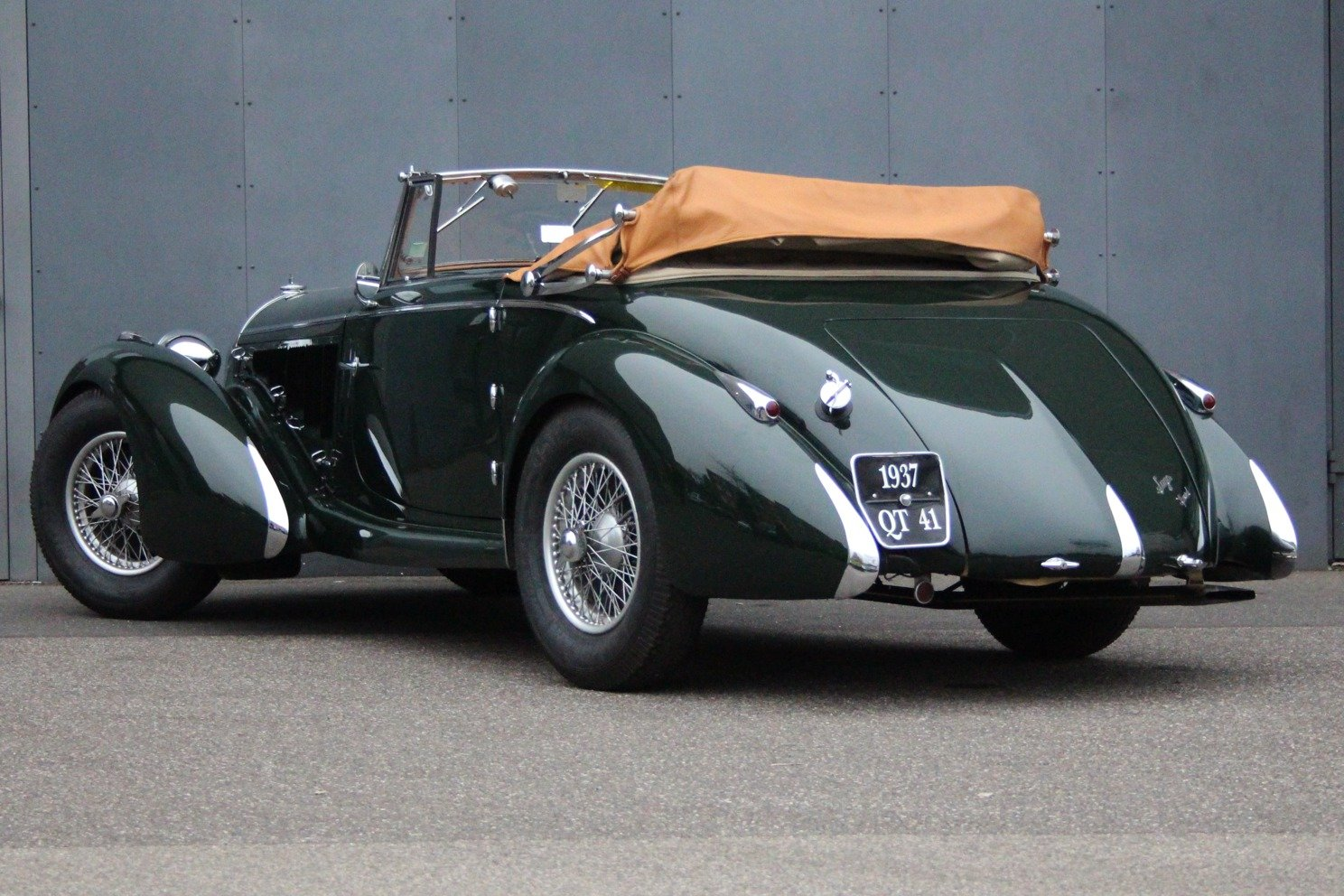 1937 Talbot Lago T150 S Lago Spéciale RHD For Sale (picture 2 of 6)