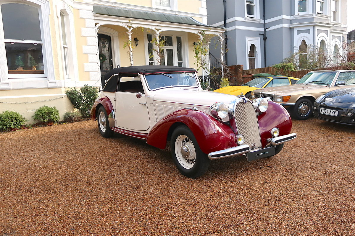 1939 Talbot-Lago T15 Baby Cabriolet RHD For Sale (picture 1 of 12)