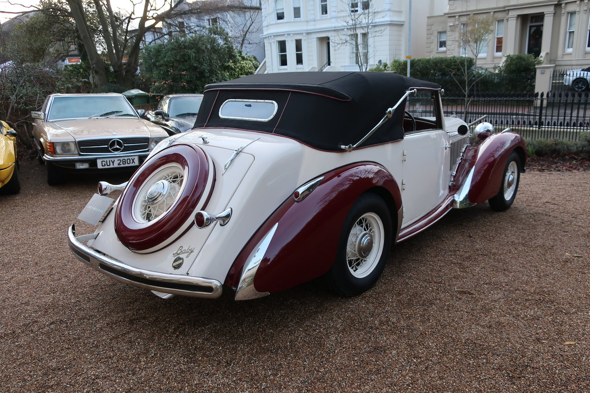 1939 Talbot-Lago T15 Baby Cabriolet RHD For Sale (picture 2 of 12)