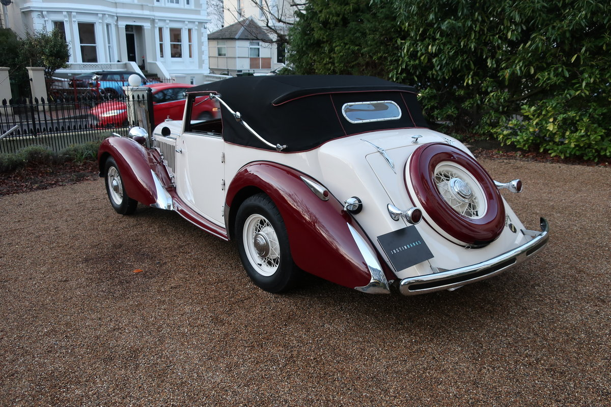 1939 Talbot-Lago T15 Baby Cabriolet RHD For Sale (picture 3 of 12)