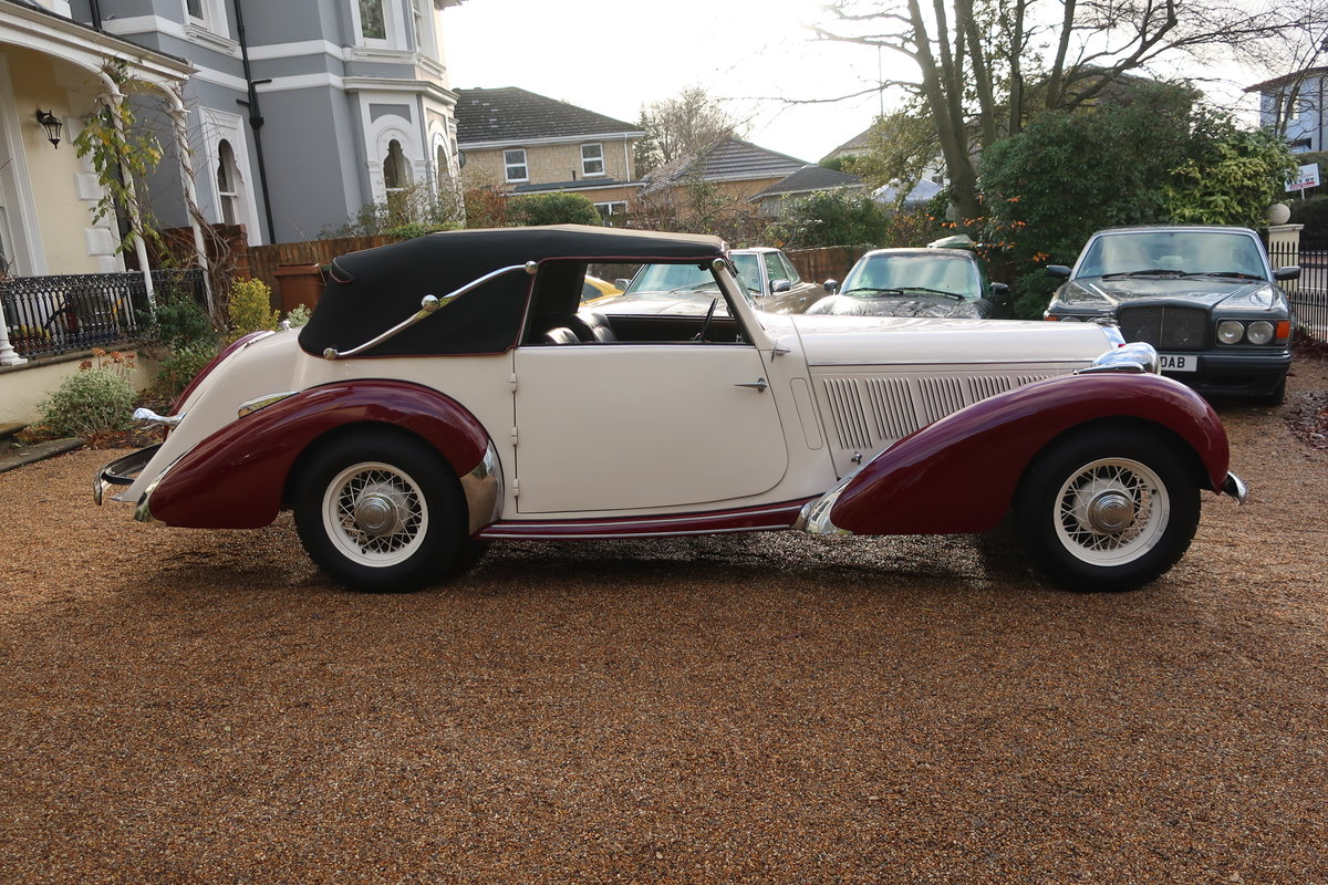 1939 Talbot-Lago T15 Baby Cabriolet RHD For Sale (picture 4 of 12)