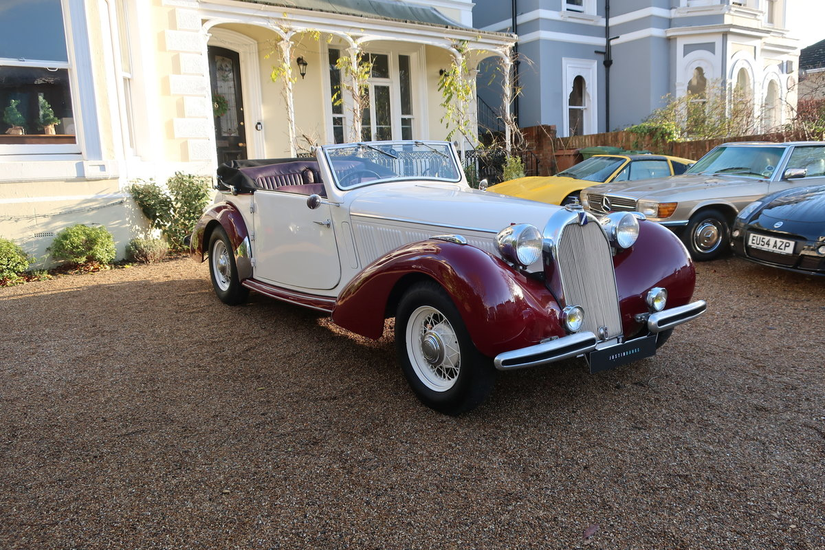 1939 Talbot-Lago T15 Baby Cabriolet RHD For Sale (picture 6 of 12)