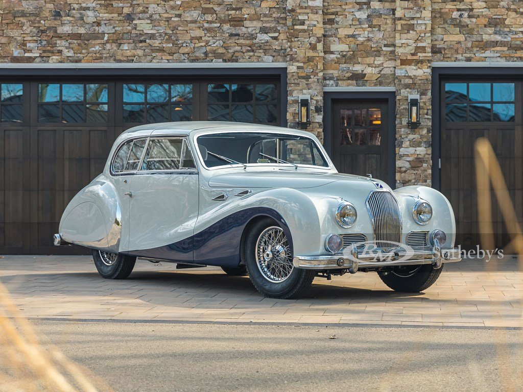 1948 Talbot-Lago T26 Record Sport Coupe de Ville by Saoutchi For Sale by Auction (picture 1 of 12)