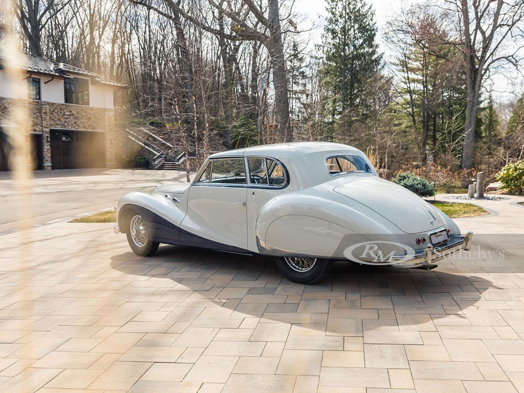 1948 Talbot-Lago T26 Record Sport Coupe de Ville by Saoutchi For Sale by Auction (picture 2 of 12)