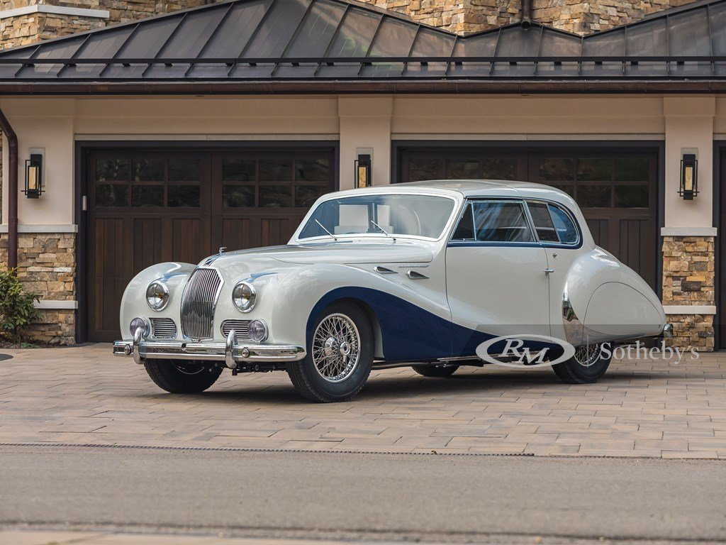 1948 Talbot-Lago T26 Record Sport Coupe de Ville by Saoutchi For Sale by Auction (picture 9 of 12)