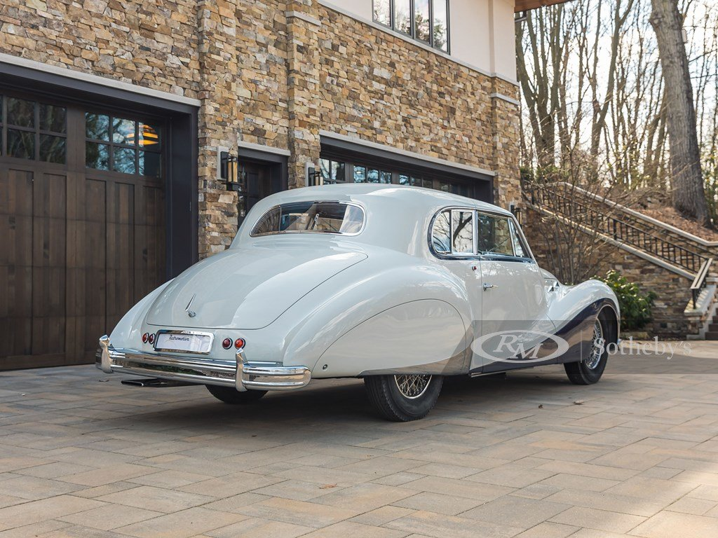 1948 Talbot-Lago T26 Record Sport Coupe de Ville by Saoutchi For Sale by Auction (picture 10 of 12)