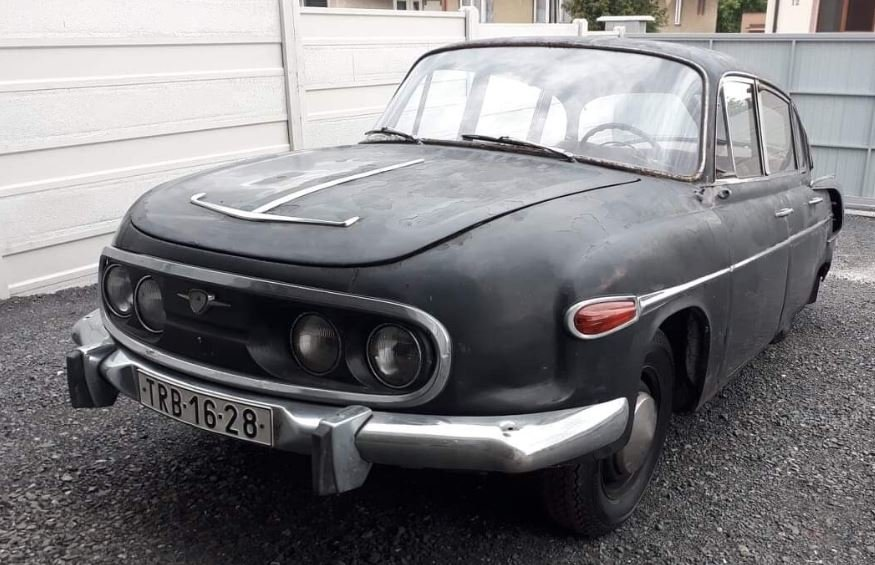 1962 Tatra 603 project For Sale (picture 1 of 6)