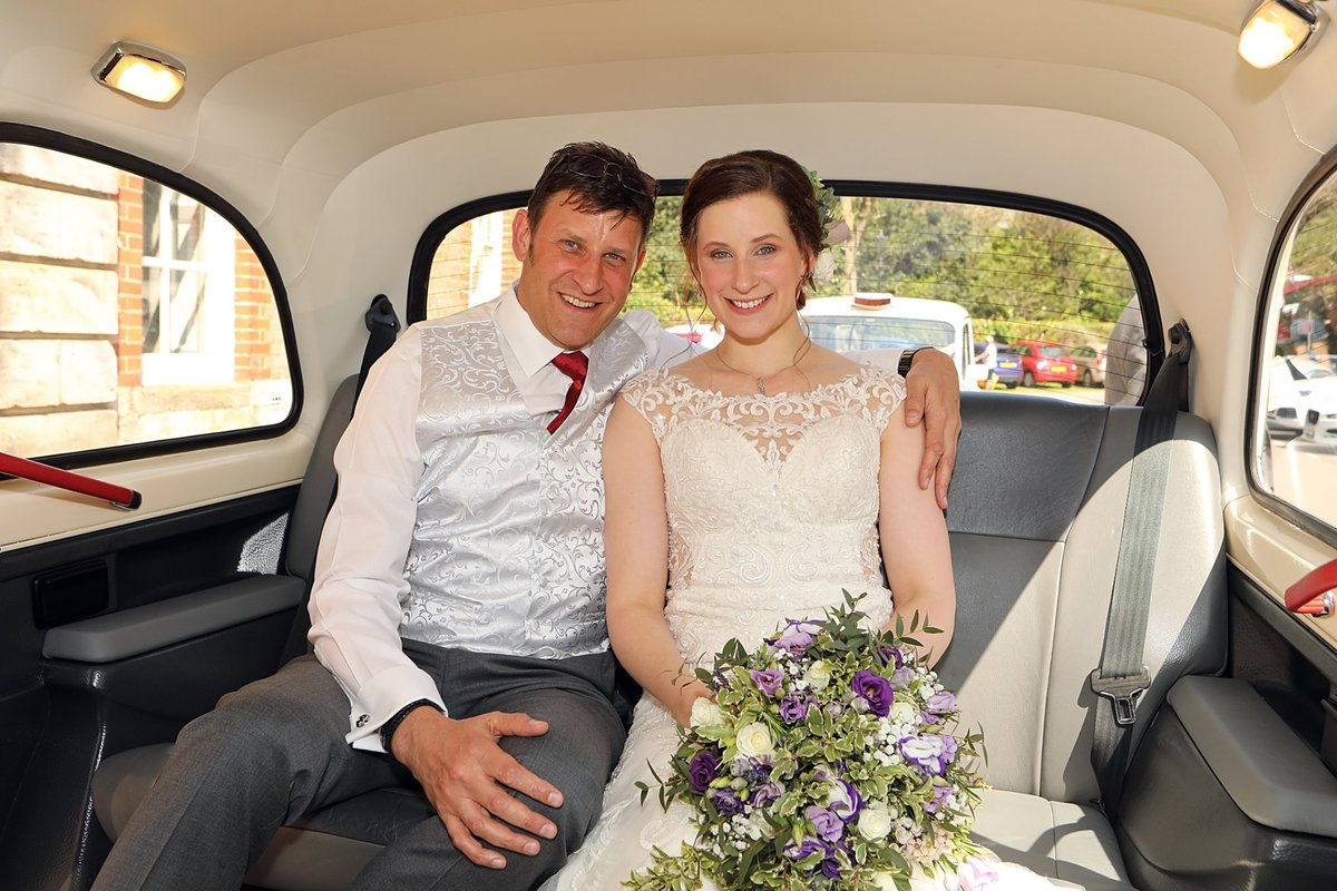 1997 White London Taxi Wedding Car Hire For Hire (picture 6 of 6)