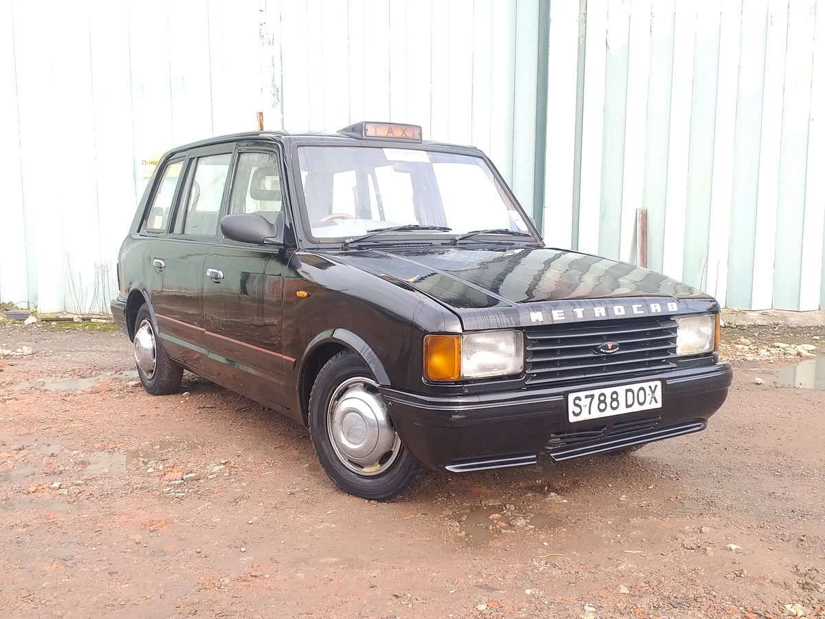 1999 London taxi 2.5 transit Di Metrocab. LONG MOT For Sale (picture 1 of 6)