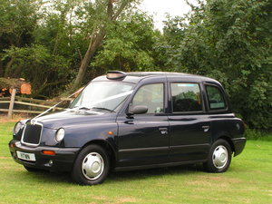 London taxi automatic 2006 met.blue  6-7 seater
