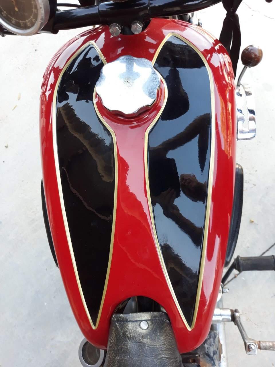 1935 Terrot 500cc. w/ sidecar -very good original cond. For Sale (picture 6 of 6)