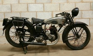 1934 TERROT PUO UTILITAIRE 250cc PROJECT WITH NICE PATINA