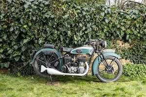 C.1937 TERROT 499CC TYPE RD (LOT 329)