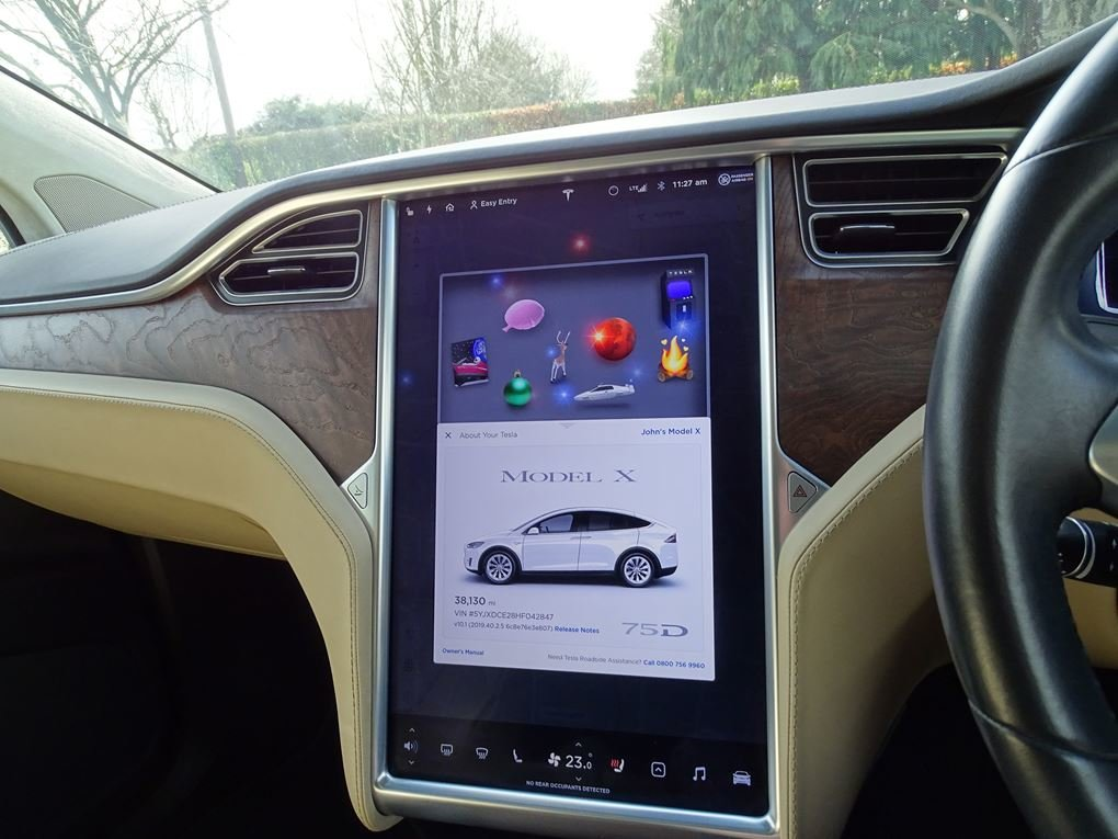 2017 TESLA  MODEL X  75D 7 SEATER  57,948 For Sale (picture 18 of 24)