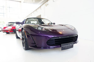 2011 The world's first electric supercar - the Tesla Roadster