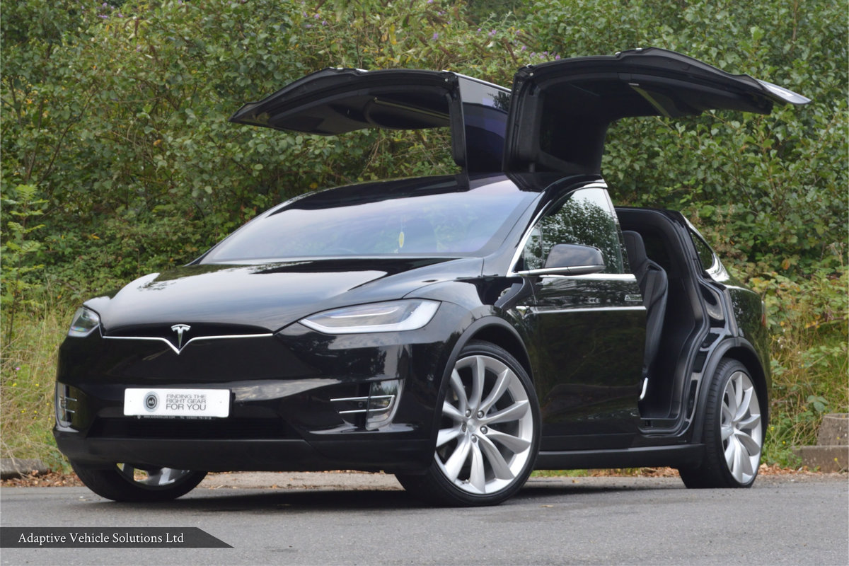 2017 Tesla Model X 100D inc 6 Seats + Enhanced Autopilot For Sale (picture 1 of 6)