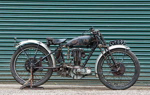 Picture of 1936 Tommy Spann Special AJS 498cc For Sale by Auction