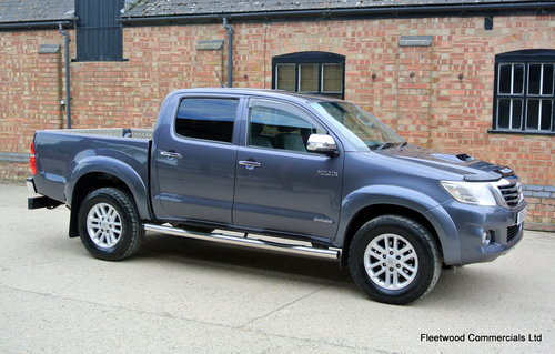 2012 Toyota HiLux 3.0D 4D auto Invincible No Vat For Sale (picture 1 of 6)