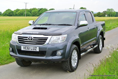 2012 Toyota HiLux 3.0D 4D auto Invincible No Vat For Sale (picture 2 of 6)