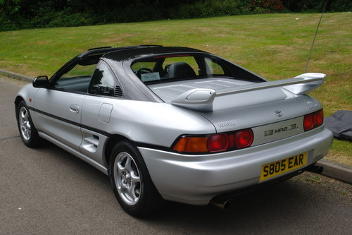 TOYOTA MR2 GTi..T-BAR..SONIC SHADOW..1 OWNER+LOW MILES+FSH.. SOLD (picture 5 of 6)