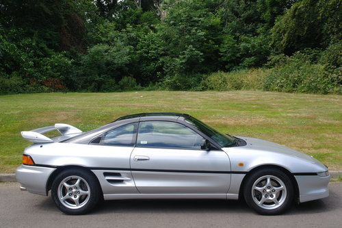 TOYOTA MR2 GTi..T-BAR..SONIC SHADOW..1 OWNER+LOW MILES+FSH.. SOLD (picture 6 of 6)