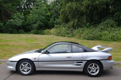 TOYOTA MR2 GTi..T-BAR..SONIC SHADOW..1 OWNER+LOW MILES+FSH.. SOLD (picture 1 of 6)