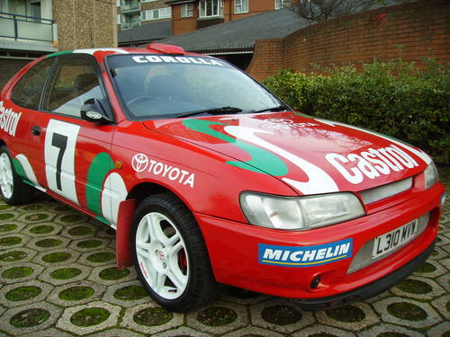 1993 Toyota 1.3 Corolla World Rally Replica ideal promotional car For Sale (picture 1 of 6)