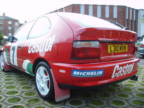1993 Toyota 1.3 Corolla World Rally Replica ideal promotional car For Sale (picture 5 of 6)