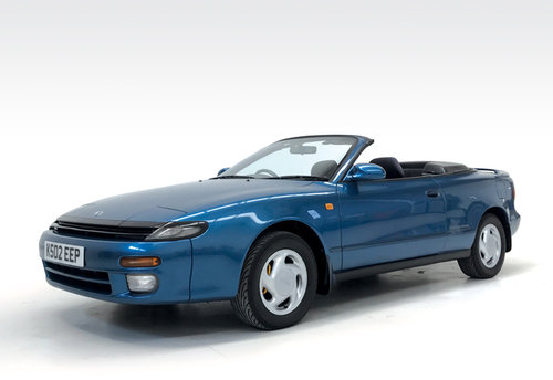 1992 Toyota Celica Limited 300 Convertible auto SOLD (picture 1 of 6)
