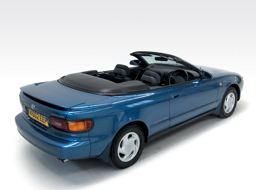 1992 Toyota Celica Limited 300 Convertible auto SOLD (picture 2 of 6)