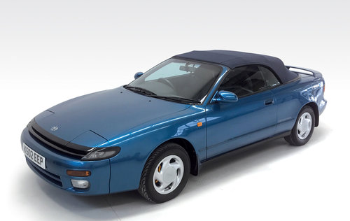 1992 Toyota Celica Limited 300 Convertible auto SOLD (picture 4 of 6)