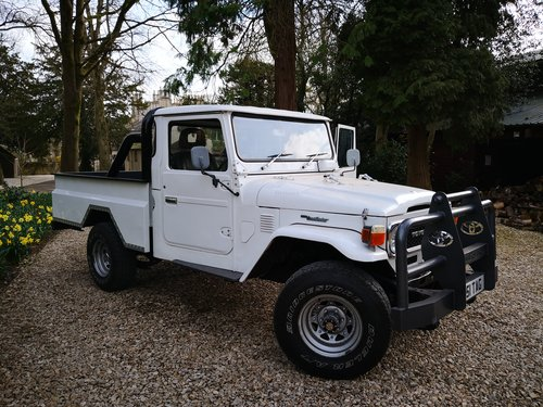 1982 Toyota Land Cruiser Pickup BJ42 For Sale (picture 1 of 6)