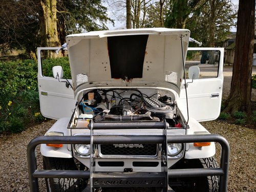 1982 Toyota Land Cruiser Pickup BJ42 For Sale (picture 2 of 6)