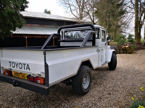 1982 Toyota Land Cruiser Pickup BJ42 For Sale (picture 4 of 6)