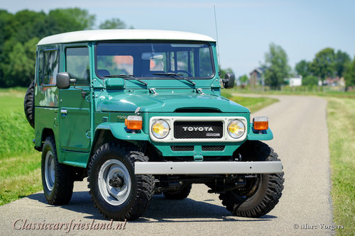 1980 TOYOTA LANDCRUISER BJ40 UNRESTORED EXCELLENT For Sale (picture 1 of 6)