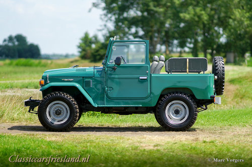 1980 TOYOTA LANDCRUISER BJ40 UNRESTORED EXCELLENT For Sale (picture 2 of 6)