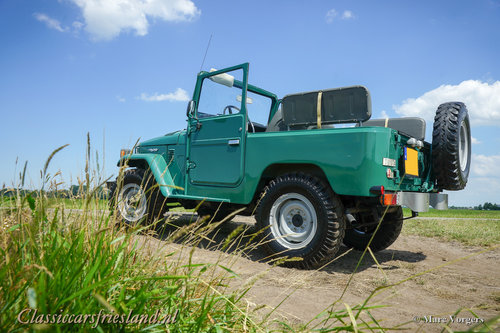 1980 TOYOTA LANDCRUISER BJ40 UNRESTORED EXCELLENT For Sale (picture 3 of 6)