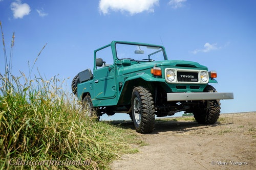 1980 TOYOTA LANDCRUISER BJ40 UNRESTORED EXCELLENT For Sale (picture 4 of 6)
