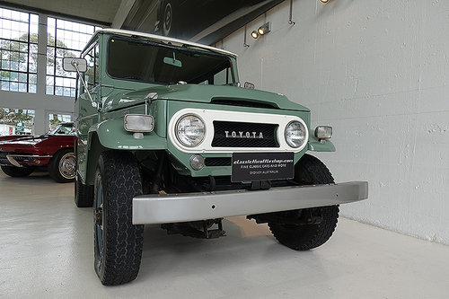1968 Early restored Land Cruiser FJ40, a very rare find SOLD | Car