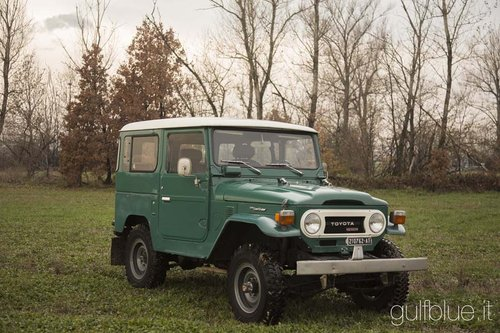 Toyota BJ40, 1977, diesel SOLD (picture 1 of 6)