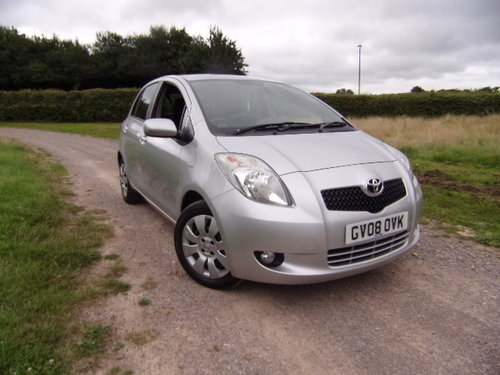 2008 Toyota Yaris 1.3 MMT T3 Automatic For Sale (picture 1 of 6)