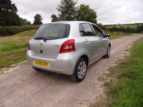 2008 Toyota Yaris 1.3 MMT T3 Automatic For Sale (picture 3 of 6)